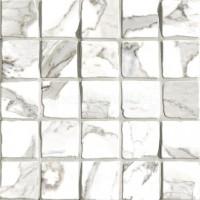 Мозаика G204020 Calacatta Mos 5x5 30x30 Vallelunga