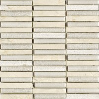 Мозаика L241709521 Time Texture Linear Cream 1.5x10 30x30 L'Antic Colonial