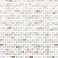 Мозаика L244001101 Tribal Pearl White 1x2 28.6x28.3 L'Antic Colonial