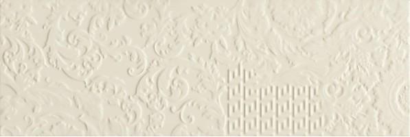 Плитка Versace Gold Decori Patchwork Crema 25x75 настенная 68642