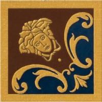 Вставка Versace Vanitas Girospecchio Classico Blu 11x11 37341