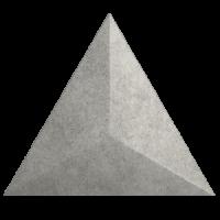 Настенная плитка 218243 Evoke Traingle Level Cement 15x17 ZYX