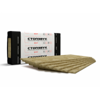 Шумопоглощающая плита СтопЗвук БП Флор 1200х600х20 мм 8 плит