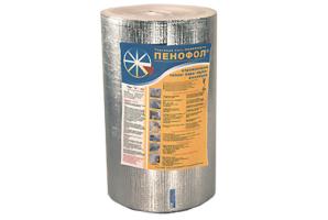 Утеплитель Пенофол фольгированный 10 мм 14.4 кв.м