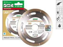 Диск алмазный Distar Professional 7D d-125 Industrial Class по плитке и керамограниту