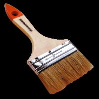 Кисть SANTOOL 100 мм натуральная щетина деревянная ручка