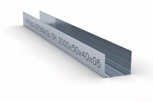 Профиль Knauf 50х40х3000 мм направляющий