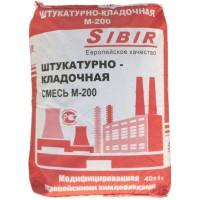 Штукатурно-кладочная смесь на цементной основе Sibir М-200 40 кг
