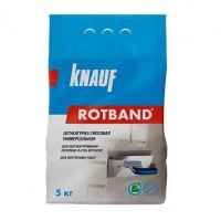 Штукатурка гипсовая универсальная Knauf Ротбанд 5 кг