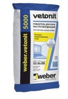 Наливной пол Weber.Vetonit 5000 быстротвердеющий 25 кг