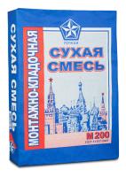 Сухая смесь Русеан М-200 монтажно-кладочная 40 кг