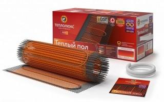 Нагревательный мат для теплого пола Теплолюкс ProfiMat 180 Вт - 1.0 кв.м
